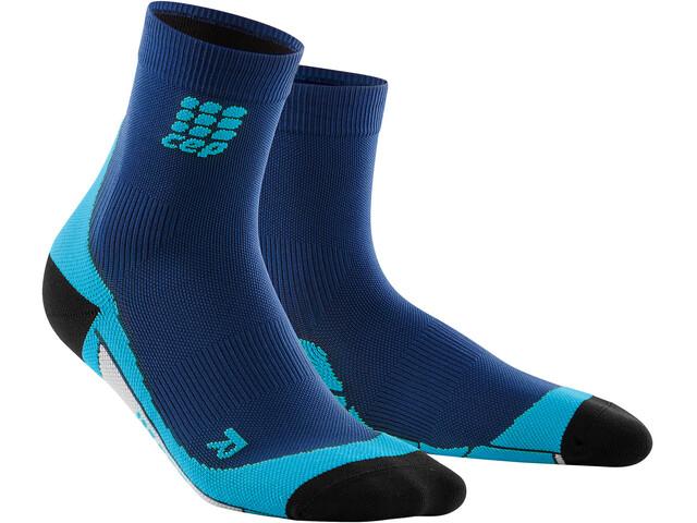 cep Dynamic+ Short Socks Men deep ocean/hawaii blue
